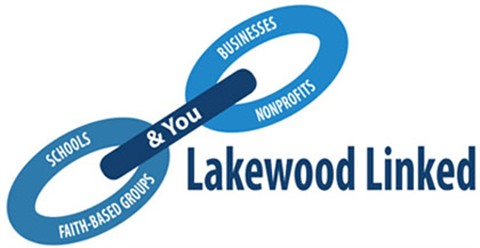 Lakewood Linked, schools, faith-based groups, businesses, nonprofits and you logo.