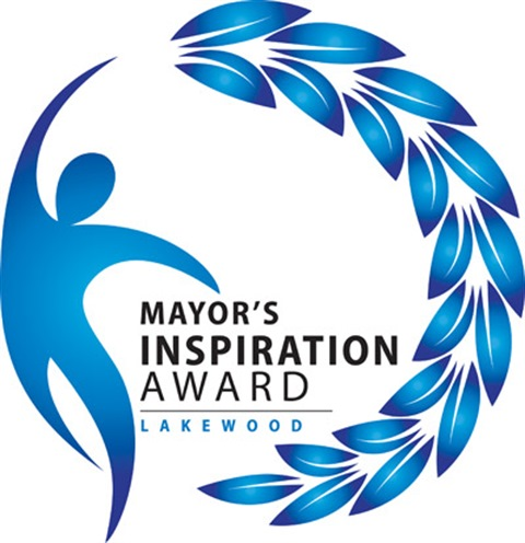 Mayor's Inspiration Award logo.