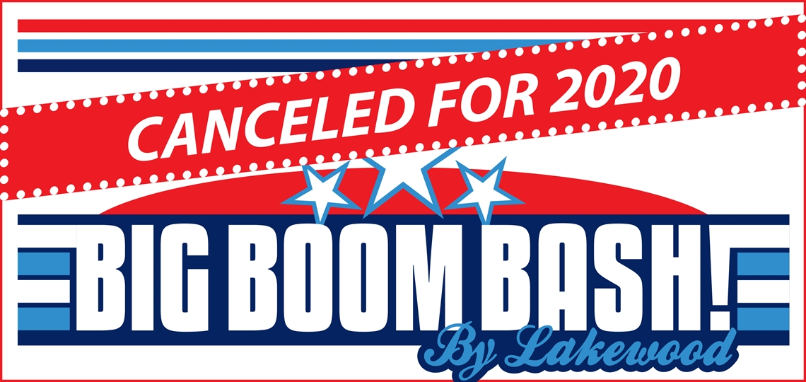 Big Boom Bash is canceled for 2020