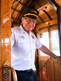 Conductor on Car 25