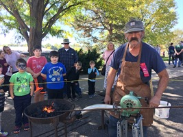 Blacksmith at Cider Days