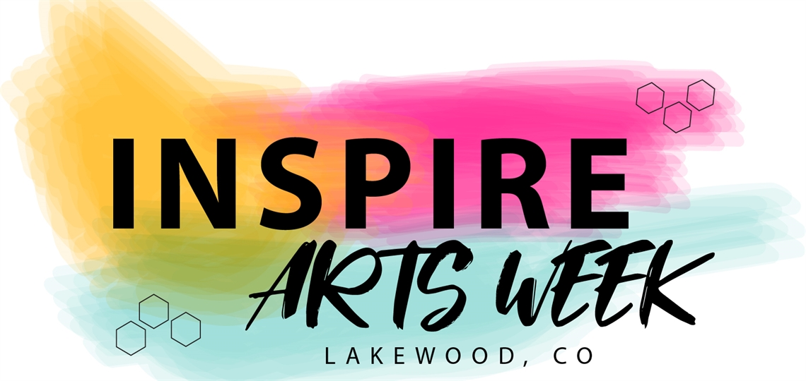 The 2019 INSPIRE Arts Week logo.
