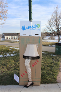 Alameda Connects 2019 Lamp Post