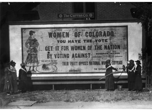 Women of Colorado Suffrage Mural