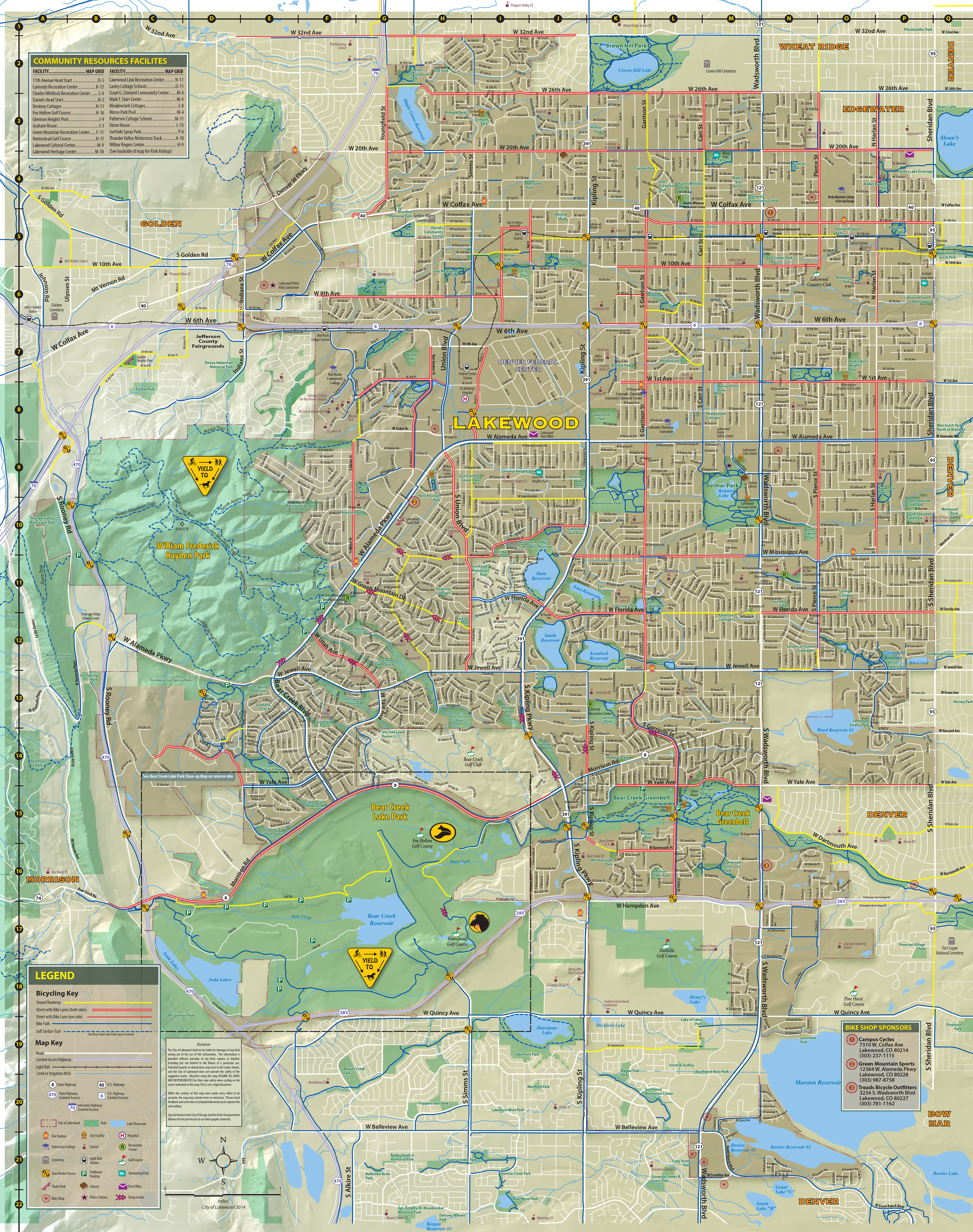 Trail Maps - City of Lakewood