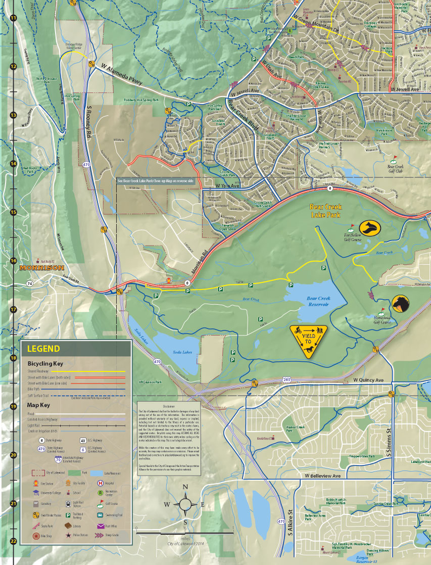 Trail Maps - City of Lakewood on