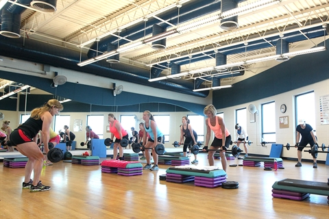 A weights class takes place in Carmody.