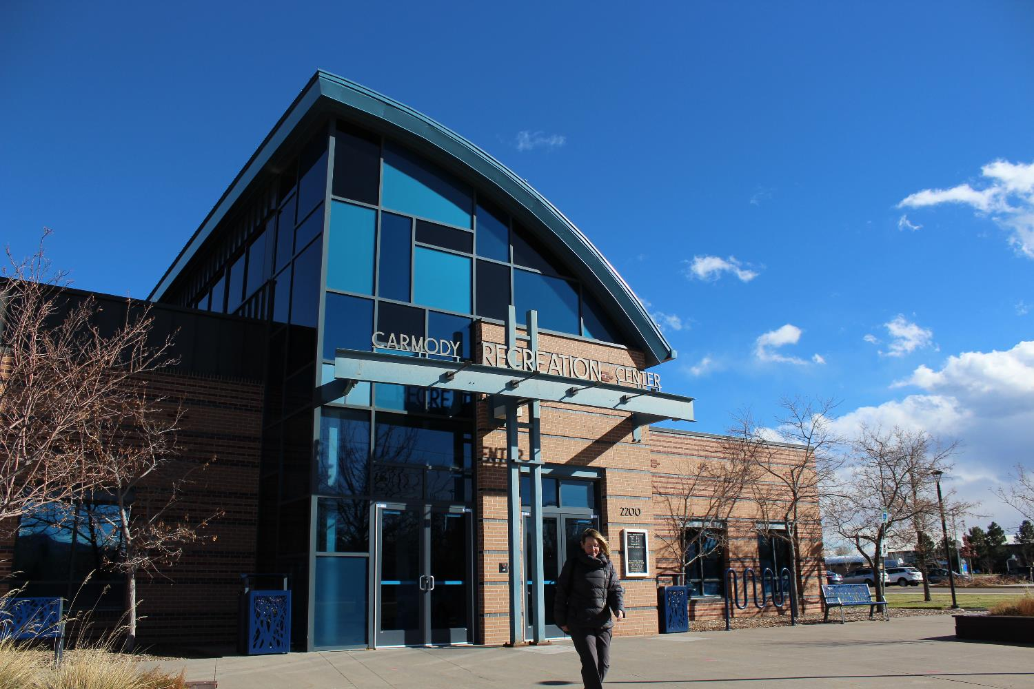carmody recreation center exterior
