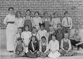 Washington Heights Class circa 1910-1913