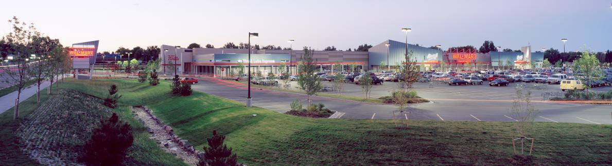 Creekside showing Walmart