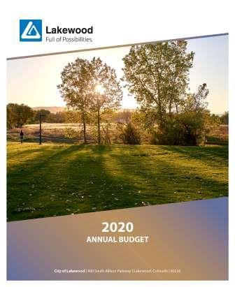 PDF document of the 2020 Annual Budget
