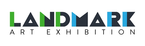 LandMark Art Exhibit logo