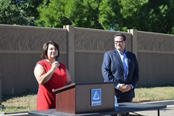 Eiber-Village-photo-of-Commissioner-Libby-Szabo-and-Mayor-Adam-Paul-at-groundbreaking-8-28-19.jpg