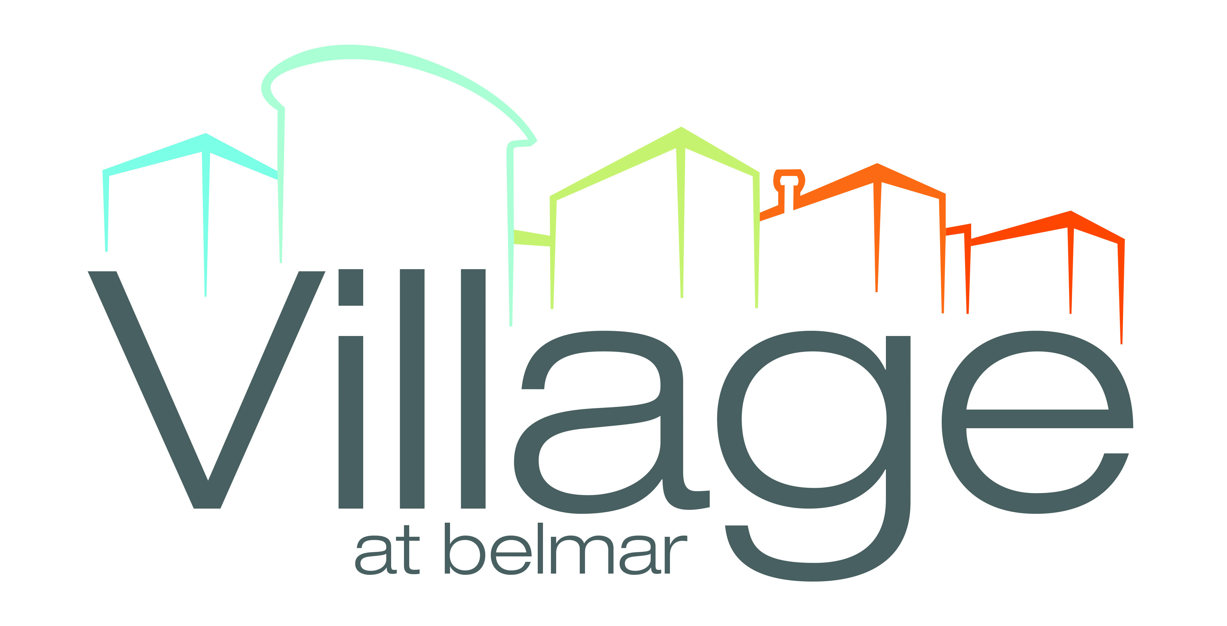 Village at Belmar logo.