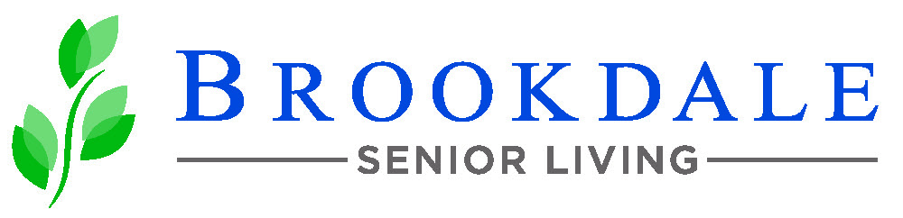 Brookdale Senior Living logo.