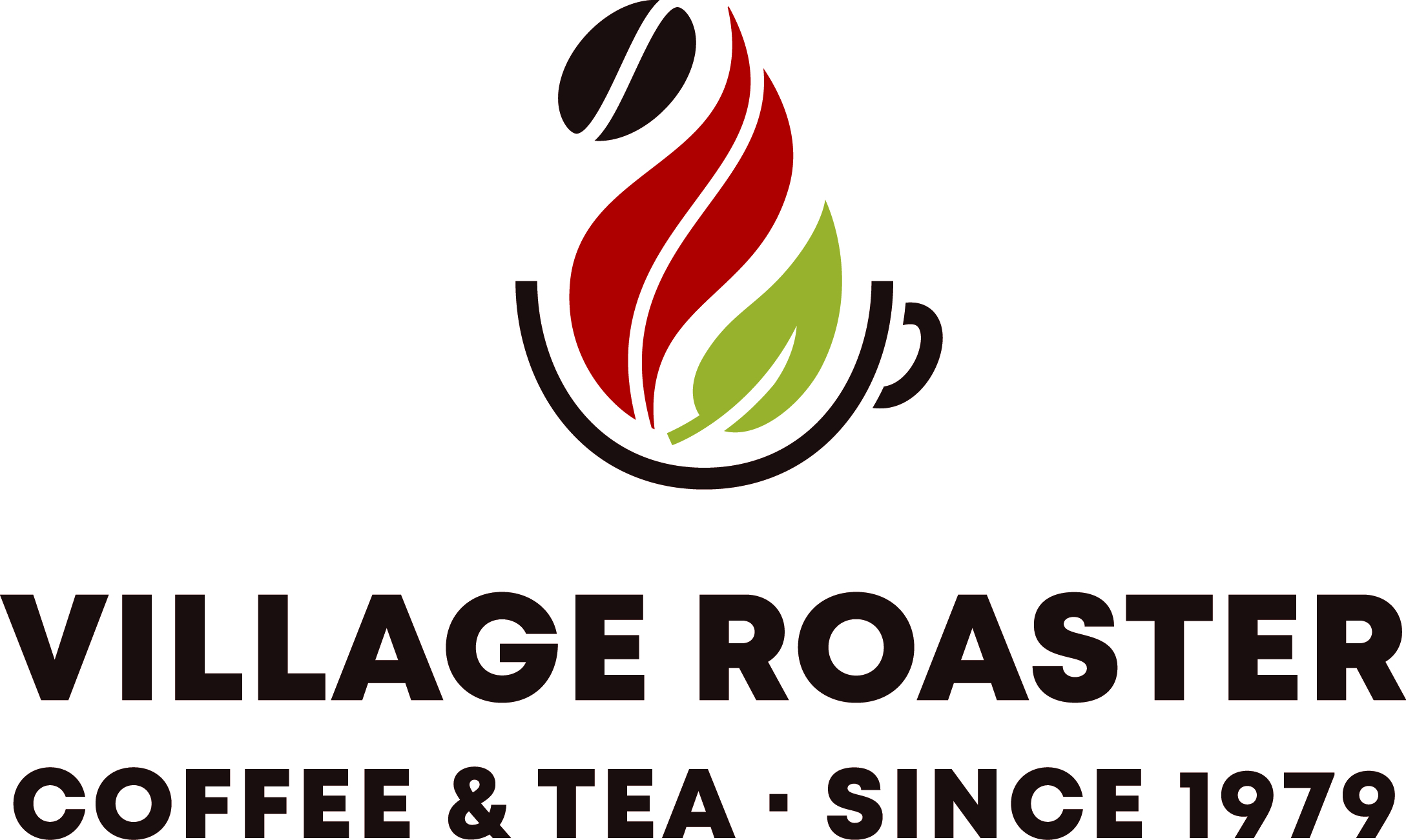 Village Roasters Coffee & Tea logo.